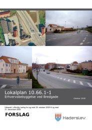 Lokalplan 10.66.1-1 FORSLAG