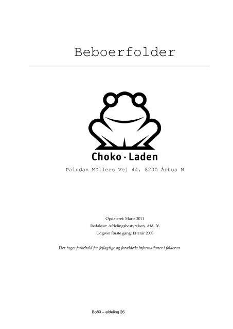Beboerfolder - Boligkontoret Aarhus