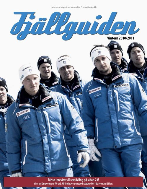 Fjällguiden 2010 - Publikationer Provisa Sverige AB