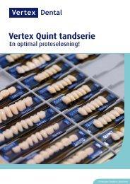 Premium Denture Solutions Vertex Quint tandserie