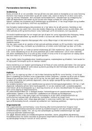 Formandens beretning 2011: - Landsforeningen Autisme