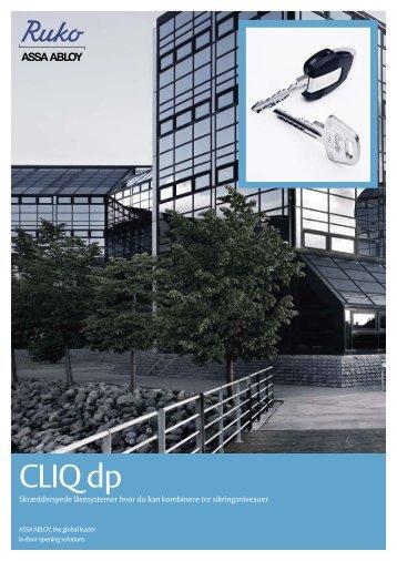 CLIQ dp brochure - Ruko