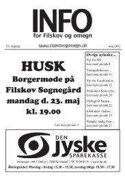 Info nr. 2 2011 - Filskov