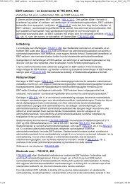 en kommentar til TfS 2012, 486 - Corit Advisory