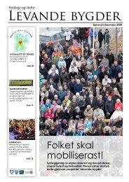 Spirenytt desember 2009 - Ryfylke Næringshage