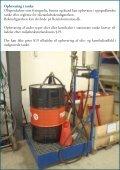 Vejledende retningslinier for opbevaring af olier og kemikalier - Page 6