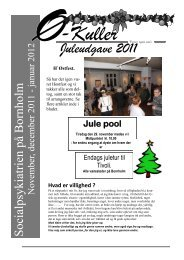Juleudgave 2011 - Bornholms Regionskommune