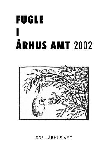 Fugle i Århus Amt 2002 - DOF Østjylland