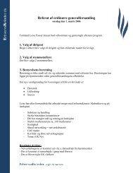 EK Kbh referat generalforsamling 2006.pdf - Foreningen af ...