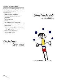 Glade børn - lærer mest - Odder lille Friskole