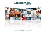 Download Brochure i PDF format - Access Innovation