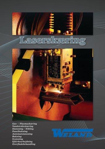 Laserskæring - Weland & Sønner A/S