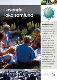 Levende lokalsamfund - Region Sjælland