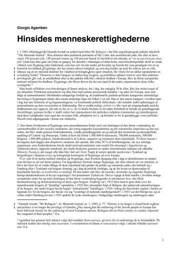 Hinsides menneskerettighederne - Dokumentar.no
