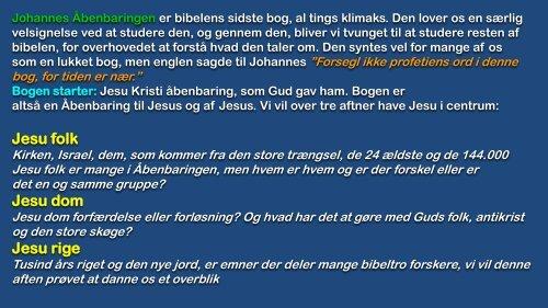 Jesu folk Jesu dom Jesu rige