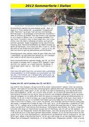 Rom tur retur via Cinque Terre - Campisternes Rejseportal