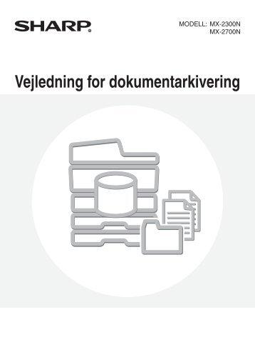 MX-2300N/2700N Operation-Manual DK - Sharp