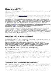 Hvad er en HPFI ? Hvordan virker HPFI-relæet? - Metasch A/S