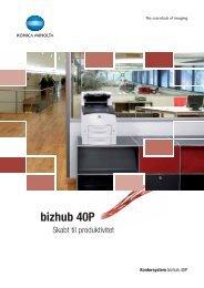 Brochure bizhub 40P, PDF (DK) - Konica-Minolta