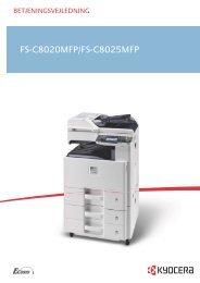 Vis skærmbilledet. - KYOCERA Document Solutions