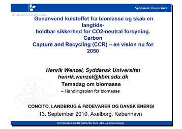 Henrik Wenzel, Syddansk Universitet - concito