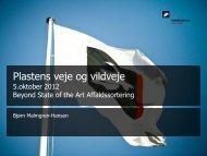 Beyond State of the Art Affaldssortering - Inno-MT