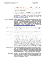 Introduktion til Forskningsservice i Danmarks Statistik