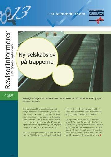 Ny selskabslov - Revisorgruppen MidtVest