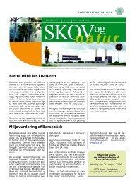 Færre mink løs i naturen Miljøvurdering af Barsebäck