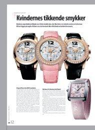 Kvindernes tikkende smykker - Timegeeks by Kristian Haagen