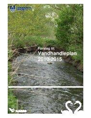 Forslag til Vandhandleplan - Fredensborg Kommune