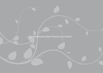 meeting & events brochure - Amsterdam American Hotel