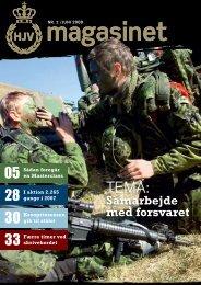 Samarbejde med forsvaret - Hjemmeværnet