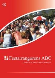 Festarrangørens ABC – Ranum Teltudlejning – Udlejning Af