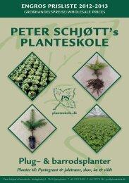 Katalog med priser - Peter Schjøtt Planteskole