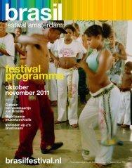 festival programma oktober november 2011