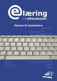 E-læring manual for skoleledere