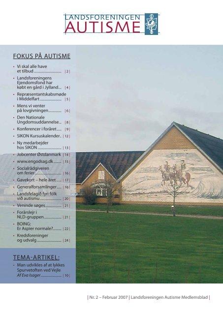 TEMA-ARTIKEL: FOKUS PÅ AUTISME - Landsforeningen Autisme