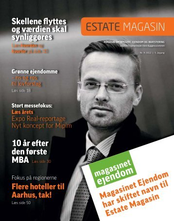 Stort messefokus - Estate Media
