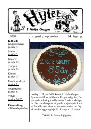2008 august / september 64. årgang - 1. Holte Gruppe