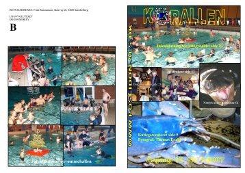 Klub blad 1 2007 - Dykkerklubben Poseidon Als