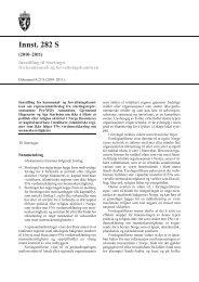 Innst. 282 S - Stortinget
