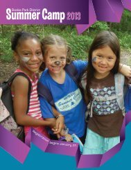 Summer Camp Guide 2013 - Skokie Park District