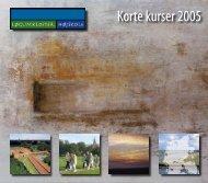 Korte kurser 2005 - nikolajdesign.dk