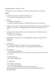 Referat fra menighedsrådsnøde den 28. maj - Næsbjerg Kirke