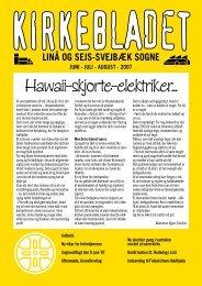 Kirkebladet 2007 nr. 2 - Linå kirke