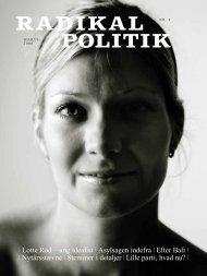 Nytårsstævne | Stemmer i detaljer | Lille parti ... - Radikale Venstre
