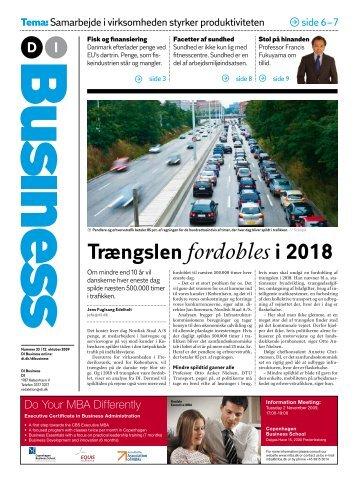 Trængslen fordobles i 2018 - Dansk Industri