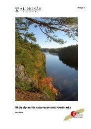 Skötselplan (pdf, 6.39 MB) - Alingsås kommun
