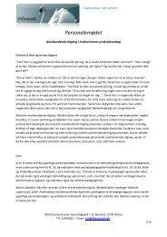 Artikel - supervision på personalemødet - JHO - Consult